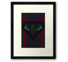Super Cthulhu Framed Print