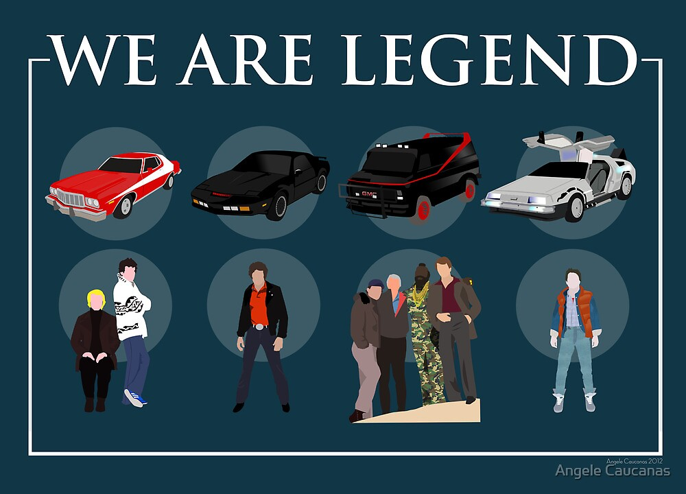 We are Legend - Part I by Angele Caucanas