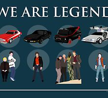 We are Legend - Part I by Angele Caucanas