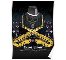 """The"" Duke Silver Poster"