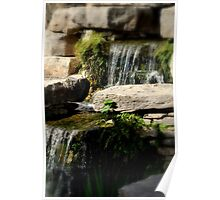 Soft Focus Waterfall Poster