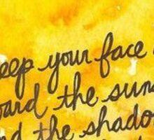 sunshine quote Sticker