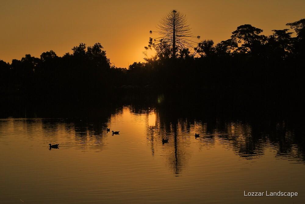 The Last Drop by Lozzar Landscape