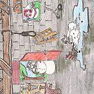 Snowman Suicide by DrewSomervell