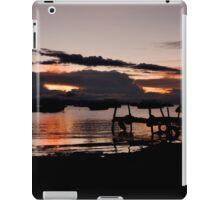 Sunset in Copacapana, on Titicaca lake iPad Case/Skin