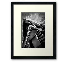 Docklands Architecture Framed Print