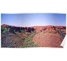 Kings Canyon, Northern Territory Poster