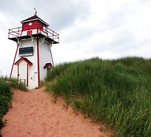 Lighthouse, PEI by Natalie Ord