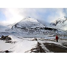 Admiring the View, Jasper, Canada Photographic Print