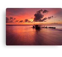 Good Morning, Caloundra Glory Canvas Print