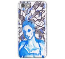 Girl with Exotic Manifold Design  iPhone Case/Skin
