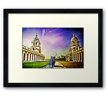 Return from the past. Framed Print