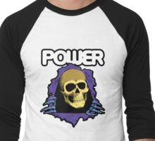 POWER - Skate Masters of the Universe Men's Baseball ¾ T-Shirt