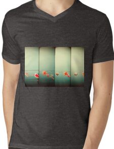 Sky Dragons Mens V-Neck T-Shirt