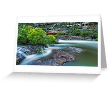 Flow of Time Greeting Card