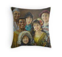 Cultures Throw Pillow