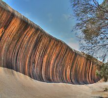 Wave Rock - HDR by Colin J Williams Photography