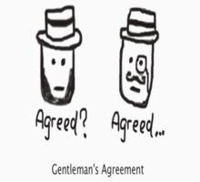 Gentleman's Agreement by deathdesign
