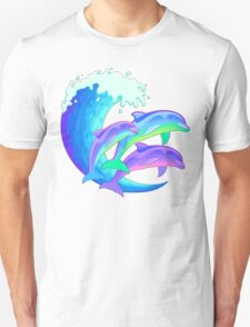 Psychedelic Dolphins T-Shirt