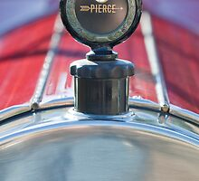 1919 Pierce-Arrow Model 48 Dual Valve Roadster Hood Ornament by Jill Reger