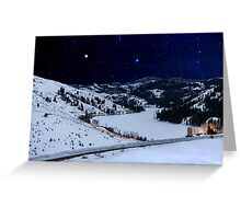 Stars Over Patterson Lake Greeting Card