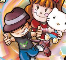Hello Kitty and Tokidoki Together! Sticker