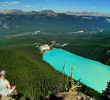 Turquoise Jewel - Lake Louise by JamesA1
