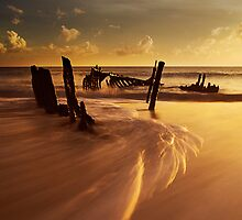 As The Tide Falls on SS Dicky by Kate Wall