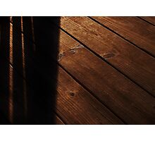 Lines In The Wood Photographic Print