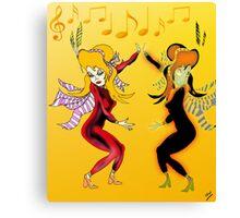 Dance Sister, Dance Canvas Print