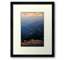 The Tigers Mouth Framed Print