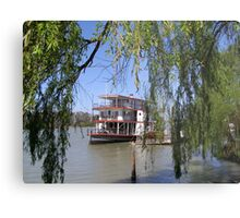 The 'Marion' Riverboat still operating at Mannum. Sth.Australia. Metal Print