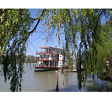 The 'Marion' Riverboat still operating at Mannum. Sth.Australia. Photographic Print