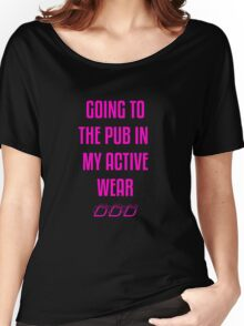 ACTIVE WEAR Women's Relaxed Fit T-Shirt