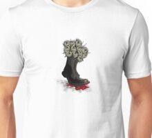 Roses made of $100 bills- War's always about money Unisex T-Shirt