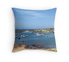 Wollongong Harbour Throw Pillow