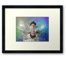 The Dreams Guard Framed Print