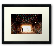 Commuter Framed Print