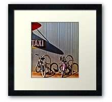 Cruisers Framed Print
