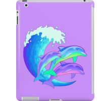 Psychedelic Dolphins iPad Case/Skin