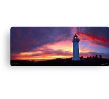 Sunset at Port Fairy Lighthouse Canvas Print
