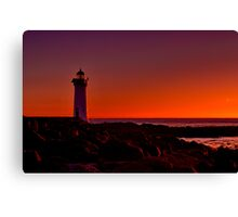 """Griffiths Dawn"" Canvas Print"