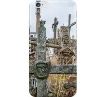 Cross at Hill of Crosses iPhone Case/Skin