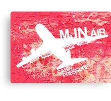 MJN Air Canvas Print