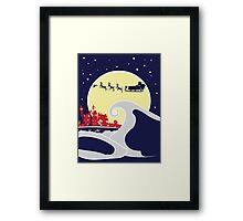 Spooky Christmas Night Framed Print