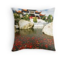 Buddhist China 1 Throw Pillow