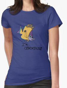 Im obnoxious  Womens Fitted T-Shirt