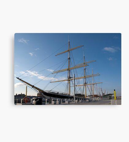 The Tall Ship 'Glenlee' Canvas Print