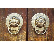 The Temple Door 2 Photographic Print