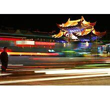 China by Night 1 Photographic Print